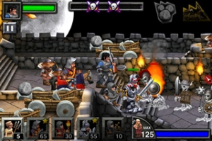 A screen capture of the game in action.