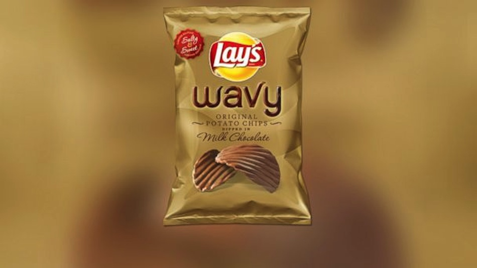 Snack Review Wavy Lay S Potato Chips Dipped In Milk