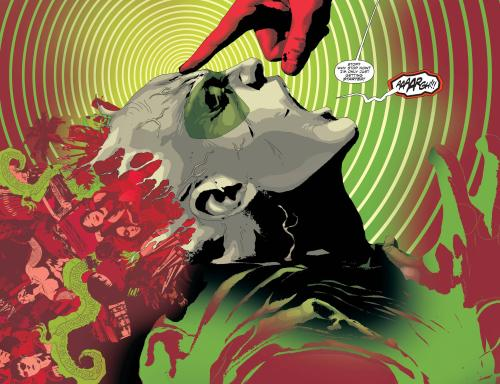 Green Arrow Splash page