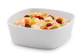 Fruit Maple Oatmeal