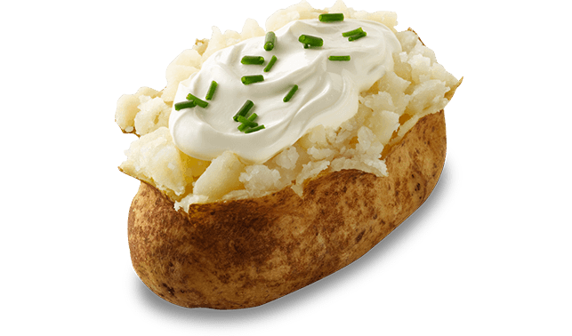 Baked Potatoes With Cheddar Sour Cream Recipes — Dishmaps
