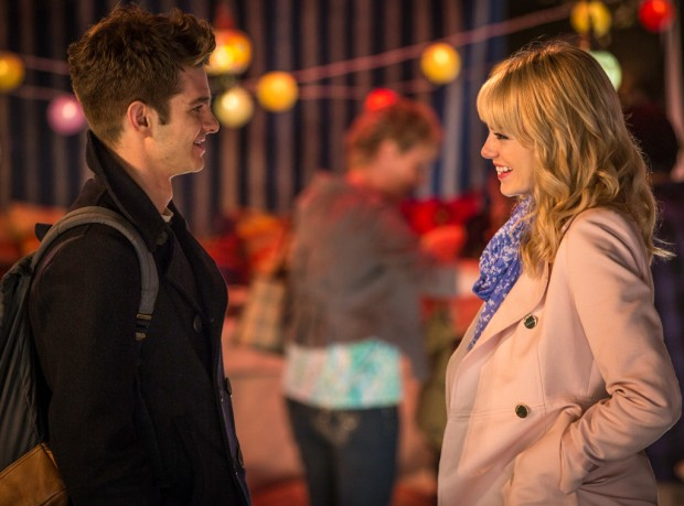 peter and gwen amazing spider-man 2