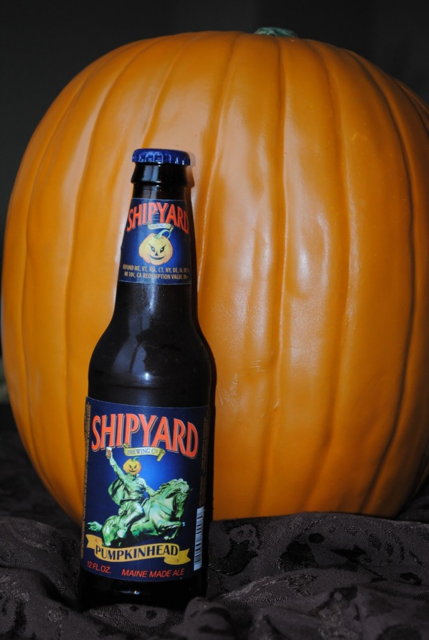 Beer for Daddy - Shipyard Pumpkinhead