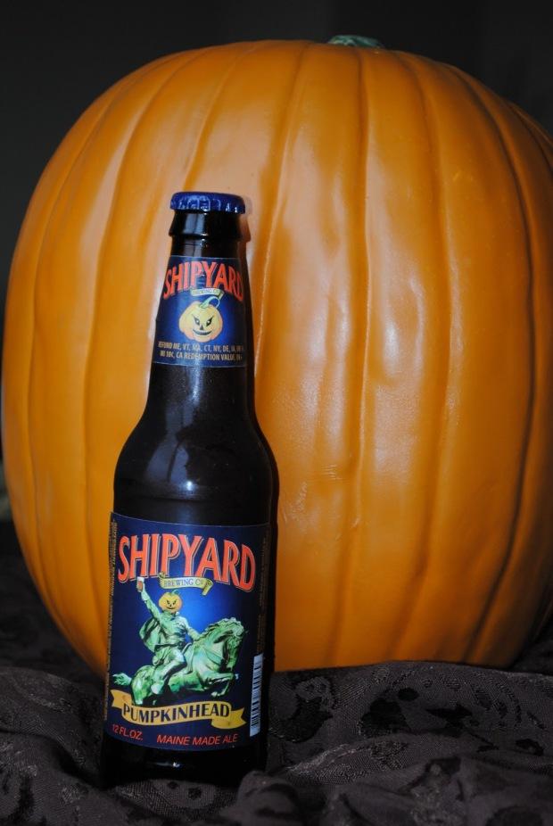 Beer for Daddy - Shipyard Pumpkinhead