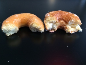 A Quick Donut/Cronut Comparison