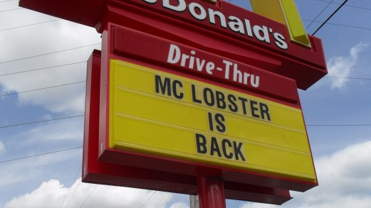 mclobster sign